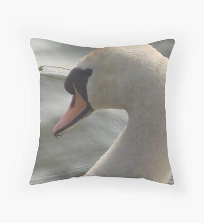 Mute Graceful Beauty #2 Throw Pillow