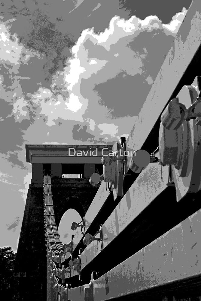 Clifton Suspension Bridge, Bristol, UK by David Carton