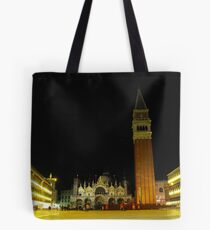 Night time in St Marco Square, Venice, Italy Tote Bag