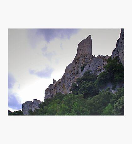 Château de Peyrepertuse Photographic Print