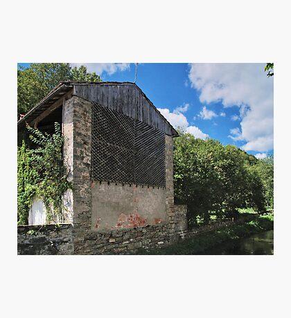 Barn at Castelnau-Durban Photographic Print