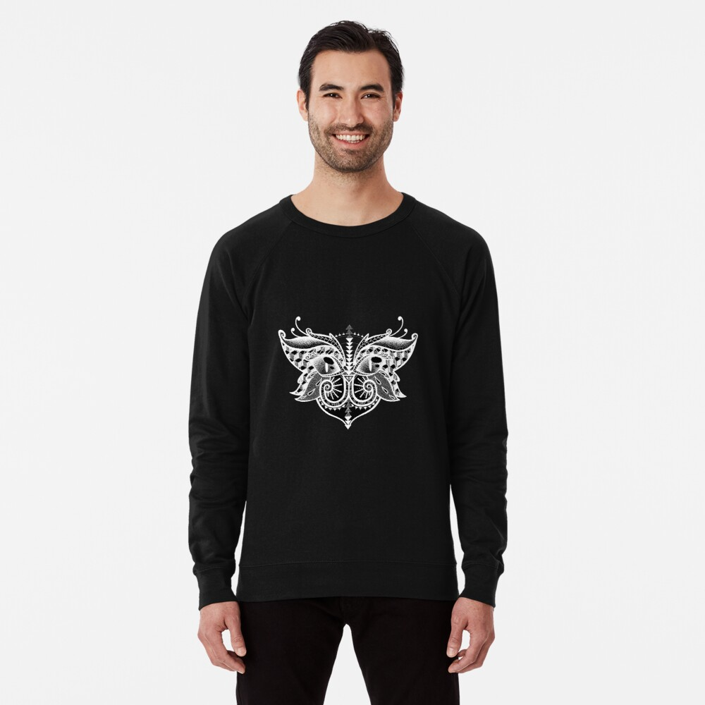 I'm O.k - Black Lightweight Sweatshirt