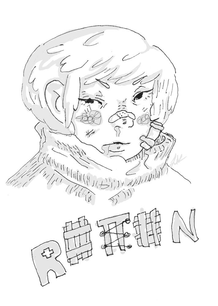 rotten otaku by paradiseinvite