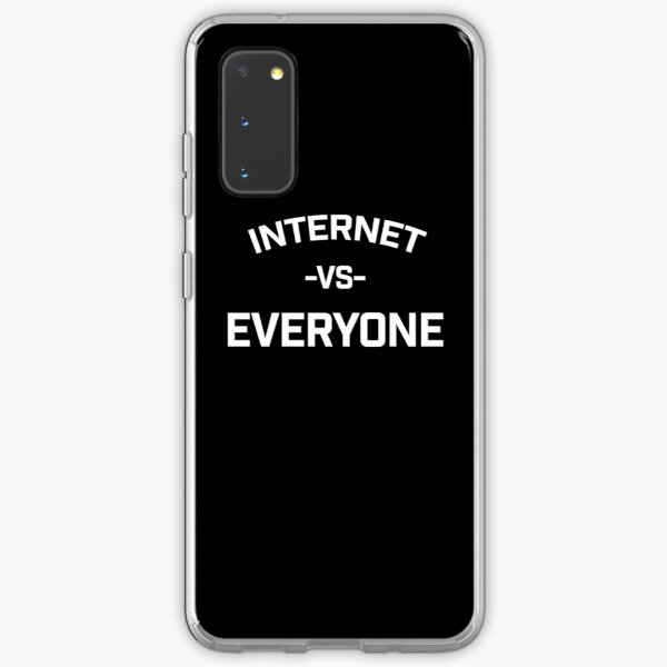 the internet vs everybody Samsung Galaxy Soft Case
