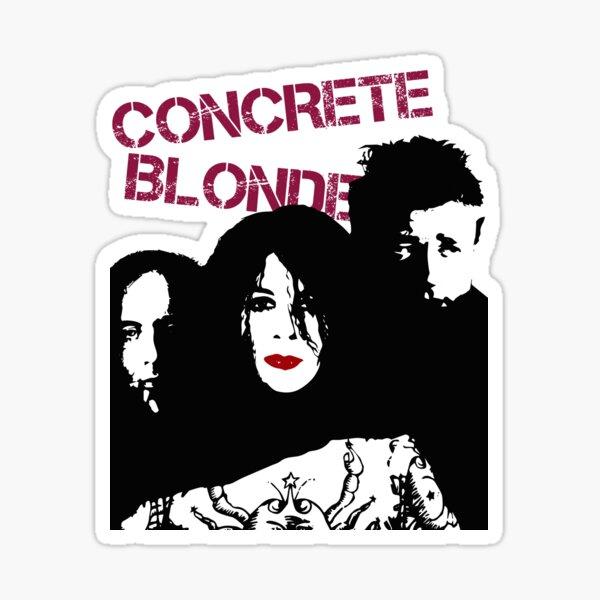 Concrete Blonde Sticker