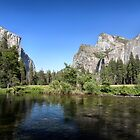 Valley View - Yosemite National Park, California by Kenneth Keifer
