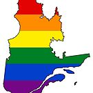 Quebec Pride by Sun Dog Montana