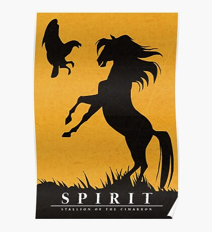 Spirit : Stallion of the Cimarron Minimalist Poster