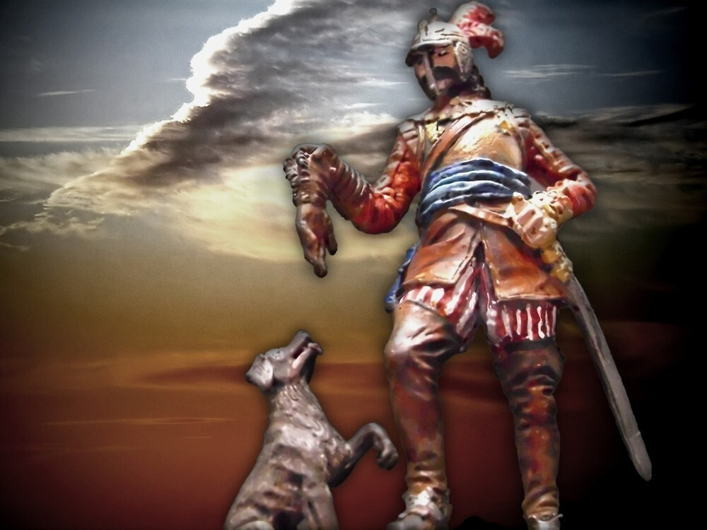 German knight midddle ages by bronteart