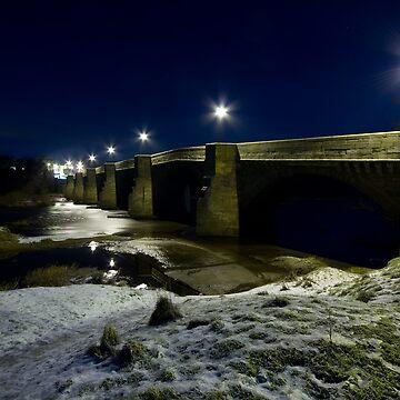 Corbridge at Night by ChrisSinn