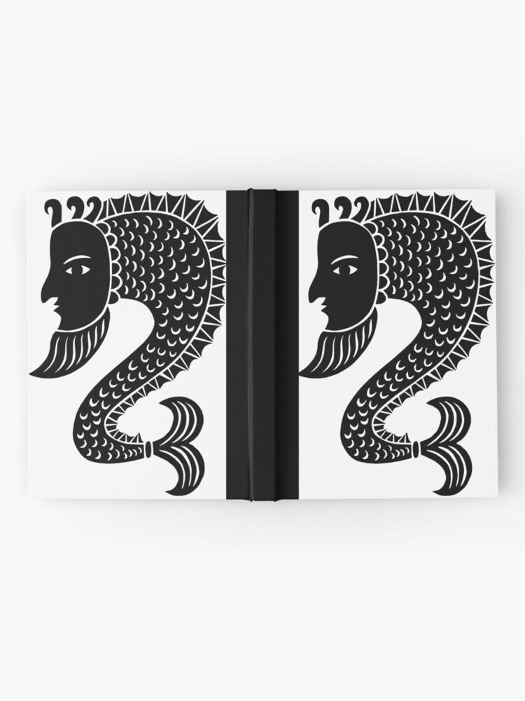 Alternate view of Sea Monster Hardcover Journal