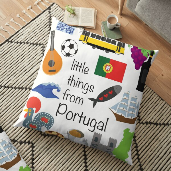 Little Things From Portugal Floor Pillow
