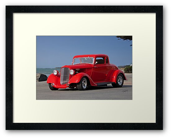 1934 Plymouth Coupe by DaveKoontz