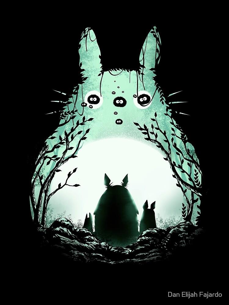 Mitternacht Totoro von Dan Elijah Fajardo