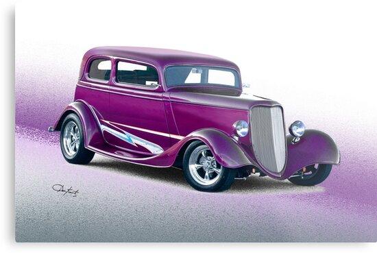 1933 Ford Victoria Sedan by DaveKoontz