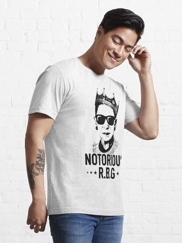 Alternate view of Notorious RBG Essential T-Shirt
