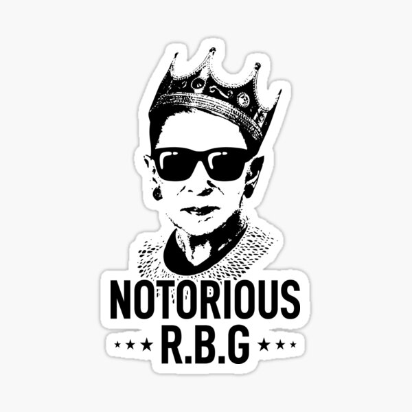 Notorious RBG Sticker
