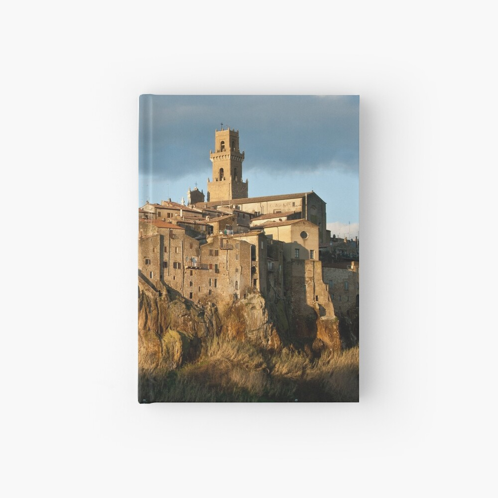 Pitigliano Tuscany Small Town Hardcover Journal