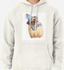 Derp Pug Pullover Hoodie