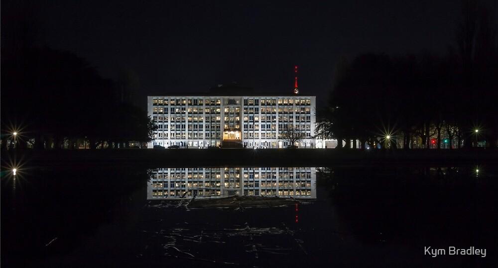 treasury building canberra june  2015 by Kym Bradley