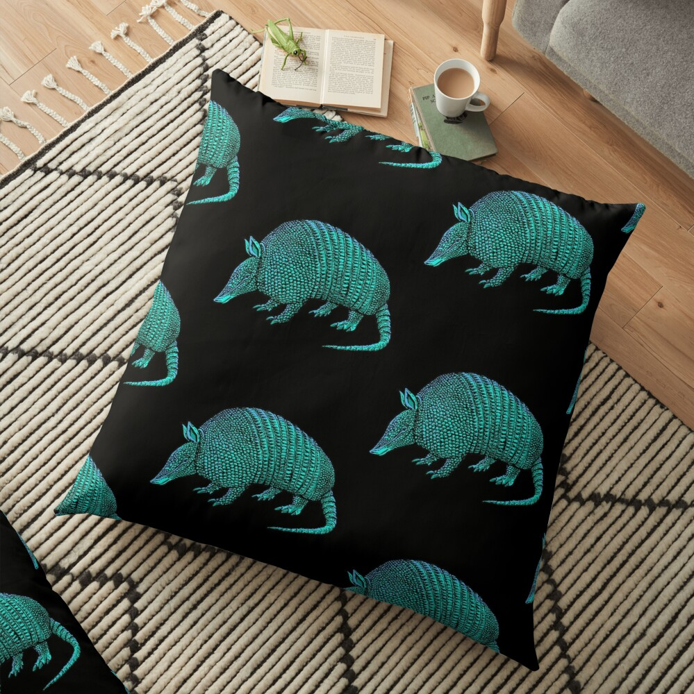 armadillo Floor Pillow