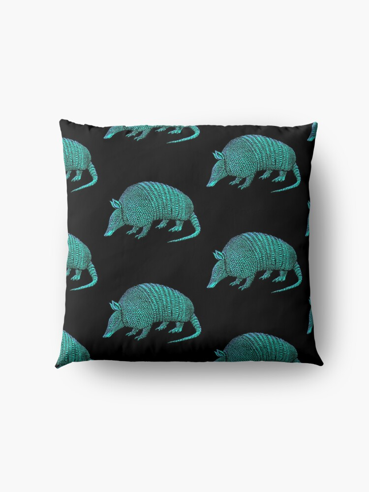 Alternate view of armadillo Floor Pillow