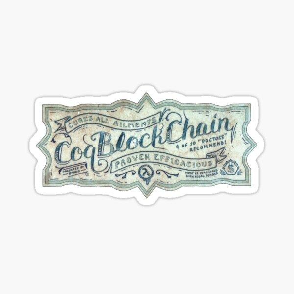 Vintage CoqBlockchain Sticker