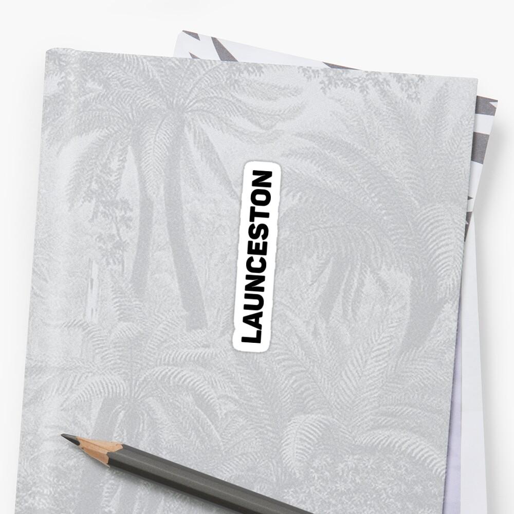 Launceston Sticker