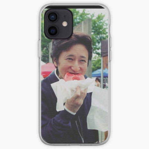 Araki comiendo rosquilla Funda blanda para iPhone