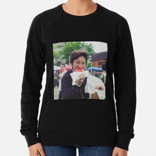 Araki Eating Donut Lightweight Sweatshirt