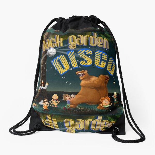 Back Garden Disco Drawstring Bag