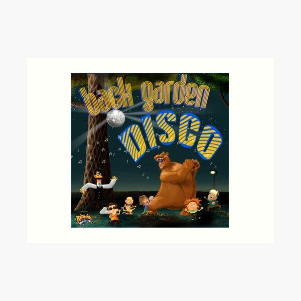 Back Garden Disco Art Print