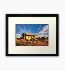 Early Morning Warmth Framed Print