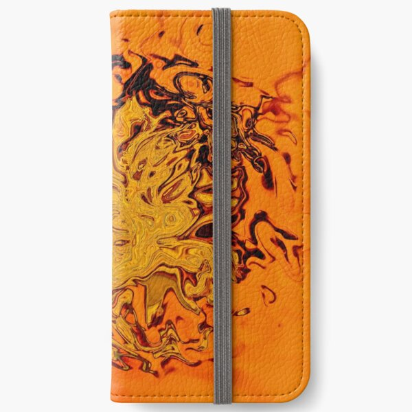 yellow and orange shades iPhone Wallet