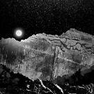 nächtliche Berge von steveswade