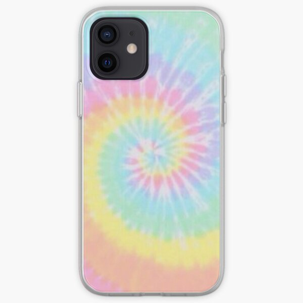 pastel tie dye iPhone Soft Case