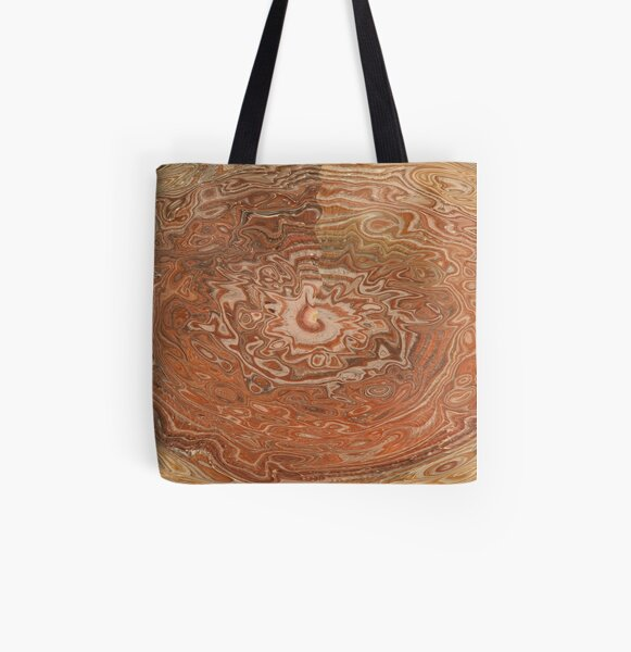 brown decorations All Over Print Tote Bag