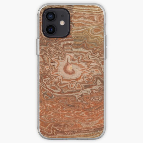 brown decorations iPhone Soft Case