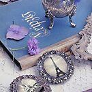 Vintage Blue Paris by stine1