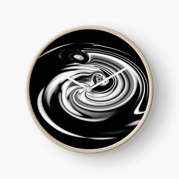 silver light vortex Clock