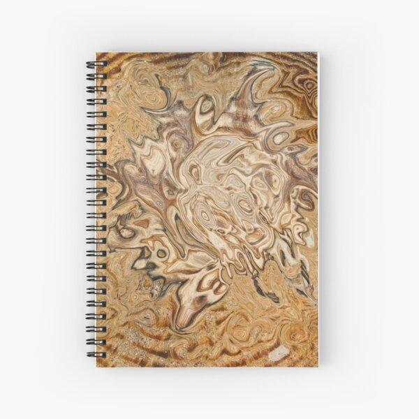 total brown Spiral Notebook