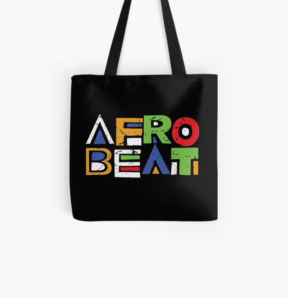 Afro Beat Night All Over Print Tote Bag
