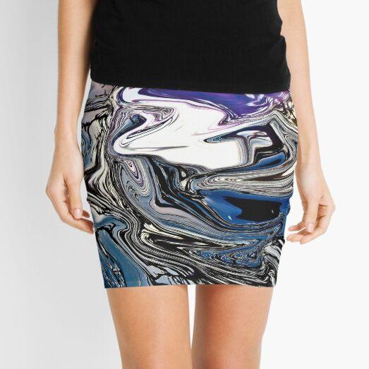 winter colors Mini Skirt