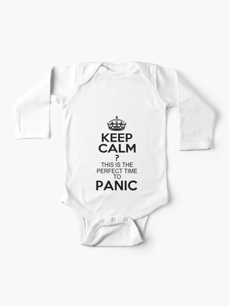 Baby Boys Childrens Keep Calm and Skate On Printed Long Sleeve 100/% Cotton Infants T Shirts