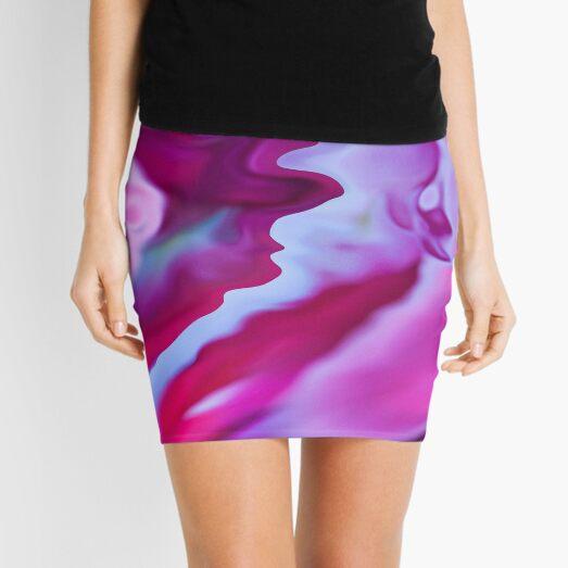 crystal reflections Mini Skirt