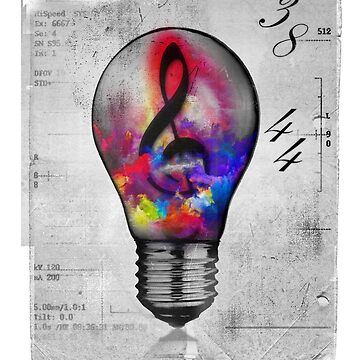 Music Light Bulb by stylebytara