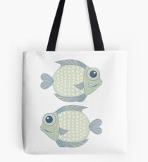 Two Cool Fish Tote Bag