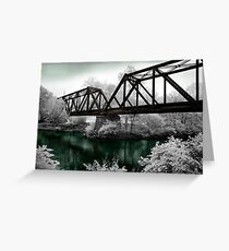 """The Tressel"" - Tennessee Mountains Greeting Card"