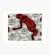no bed of roses #2 Art Print