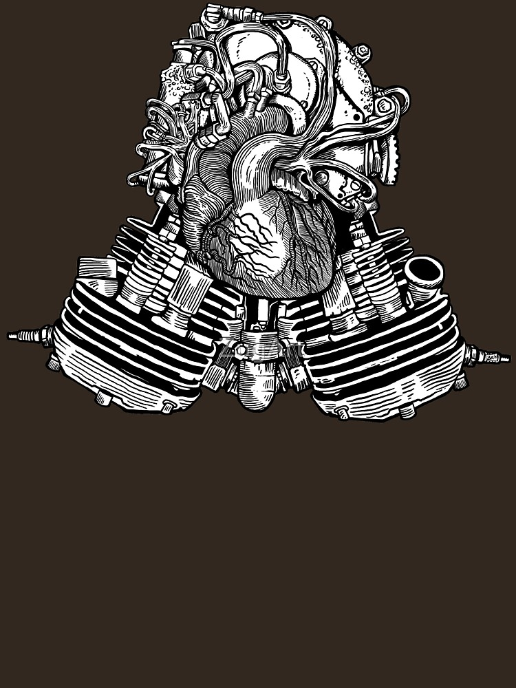 V Twin Heart (Victorian Edition) by ZugArt